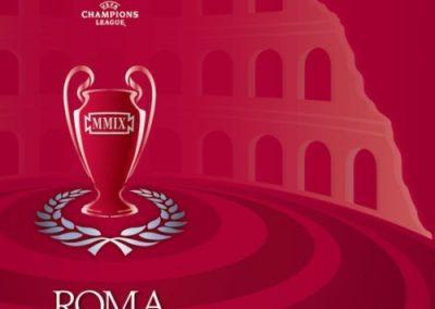 Trasporto e conta valori in occasione della Finale di Champions League di calcio svoltasi a Roma il 27 maggio 2009. Nell'occasione da parte di Security.it sono stati svolti servizi di sicurezza antiterrorismo per tutti i voli charter spagnoli ed inglesi programmati per i tifosi delle squadre contendenti e, altresì, la custodia presso i propri Caveaux della Coppa Campioni.
