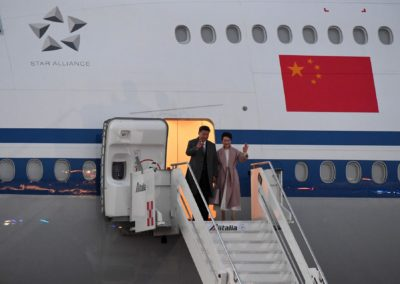 Presidio Presidente della Cina Xi Jinping